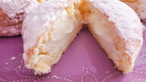Key lime paczki from Busy Bee Bakery in Downers Grove IL